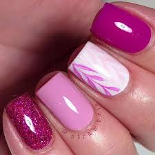 50 lovely pink and white nail art designs white nail designs