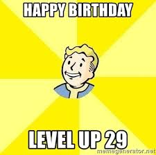 happy birthday level up meme mne vse pohuj