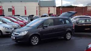 opel zafira 2010 2010 vauxhall zafira elite auto in grey youtube