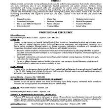 Pre Med Resume Sample by Nursing Resume Rn Resume Sample Resume For Nurses With Experience