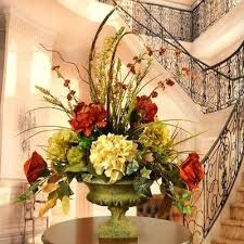 ginger accent artificial flower arrangement traditional artificial