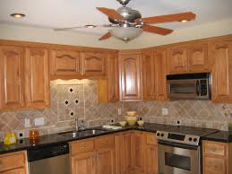 Traditional Kitchen Backsplash Ideas - decorating nice ceiling fan with lights for traditional kitchen