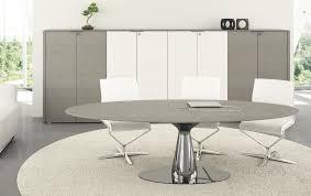 Oak Boardroom Table Meta Italian Meeting Table