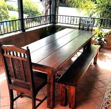outdoor dining table plans 8 foot dining tables outdoor dining tables for 8 ft table farmhouse