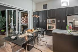shaker painted black cabinets kitchen ideas