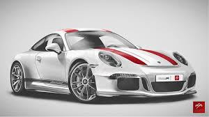 supercar drawing realistic drawing porsche 911r by golferpat on deviantart