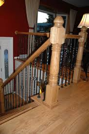 How To Restain Banister Handrail And Stair Installation Refinshing Restoration Floorworks