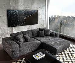 big sofa schwarz die besten 25 schwarze ledersofas ideen auf ledersofa