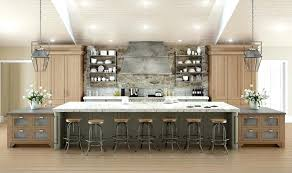 custom kitchen islands with seating attractive 6 kitchen island with seating 2 64 deluxe custom