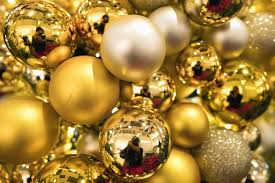 free picture decoration new year christmas reflection gold light