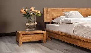 chambre chene massif lit contemporain en chêne massif vinci bas chambre à coucher en