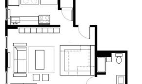 Efficiency Apartment Floor Plans One Room Efficiency Apartment Plans View Floor Plans Apartments