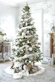 creative white trees decor trees beautifully decorated to
