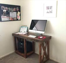 Desk For Small Rooms Easy Diy Computer Desk Small Best 25 Ideas On Pinterest Rooms