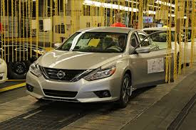 nissan altima 2016 fuel efficiency new 2016 nissan altima production begins in smyrna business wire