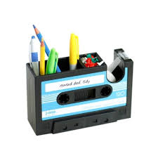 Office Desk Tidy Vintage Style Creative Office Pencil Pot Stationery Desk Tidy