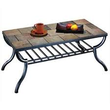nebraska furniture coffee tables antigo tile top rectangular coffee table nebraska furniture mart
