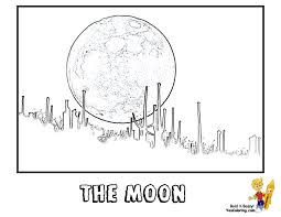 moon coloring pages earth and moon coloring page free printable