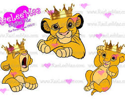 digital download baby lion king characters baby simba baby