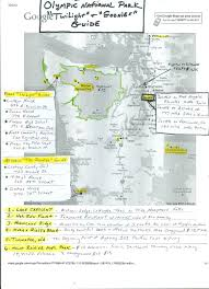 Olympic National Park Map Maps For Friends