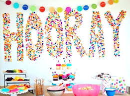 home decorations for birthday decoration birthday party home decorations with an elegant