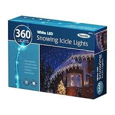 snowing icicle outdoor lights new christmas 360 led snowing icicle bright party wedding xmas