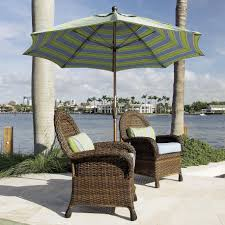 Walmart Patio Furniture Wicker - exterior design exciting striped walmart umbrella with wicker