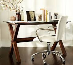 Wood Desk Chair by Pottery Barn White Desk Chair Roselawnlutheran