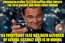Oscars Meme - leonardo dicaprio cheers meme imgflip