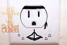 and now something we all use the socket outlets