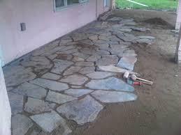 Dry Laid Flagstone Patio Tools For Flagstone Walkway