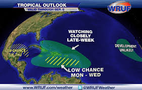 Weather Maps In Motion Tropical Wave Entering Caribbean Is One Of Many To Watch This Week
