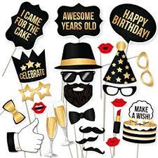 diy photo booth props partygraphix diy happy birthday props for birthday