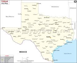 tecas map cities in cities map