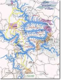 ozarks map lake of the ozarks vacation rentals driving directions