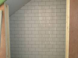 subway tile best grout color floor decoration