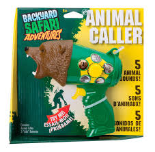 Backyard Adventures Price List Amazon Com Backyard Safari Animal Caller Toys U0026 Games