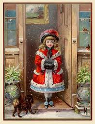 751 best christmas children victorian images on pinterest
