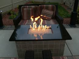 hton bay fire pit table outdoor fire pit ideas using fire glass modern outdooor fireplace