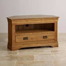 Solid Oak Furniture Wood Corner Tv Stand U2013 Flide Co