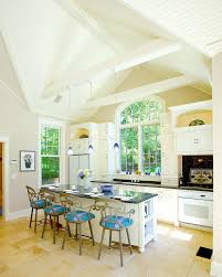 White Beadboard Ceiling by Beadboard Kitchen Island Kitchen Traditional With Traditional