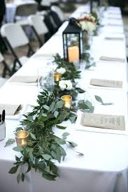 Centerpieces For Table Wedding Greenery Table Greens Silver Centerpieces For Tables