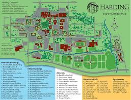 Unt Campus Map Harding University Image Gallery Hcpr