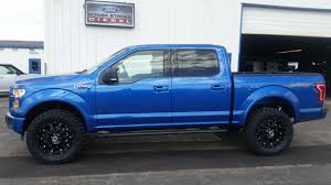 new ford truck my new blue flame beach truck ford f150 forum community of
