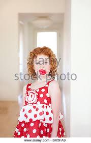 polka dot dress stock photos u0026 polka dot dress stock images alamy