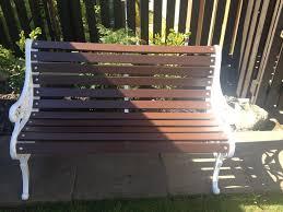 bench stunning outdoor iron bench victorian stunning grey cast