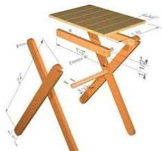 free folding picnic table plans google search fotos