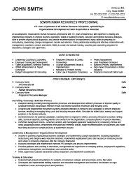 human resource resume exles gallery of hr resume templates