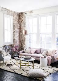 Pink Living Room Furniture 85 Inspiring Bohemian Living Room Designs Digsdigs