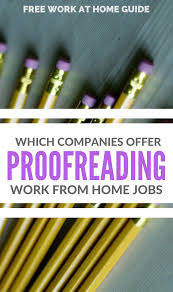 beginner guide which companies offer proofreading and editing jobs